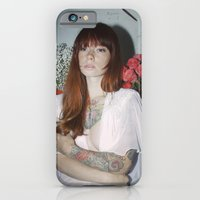 iPhone & iPod Case featuring Hattie Floral by bobtheberto