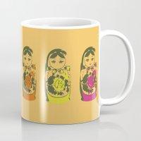 matryoshka dolls Mug