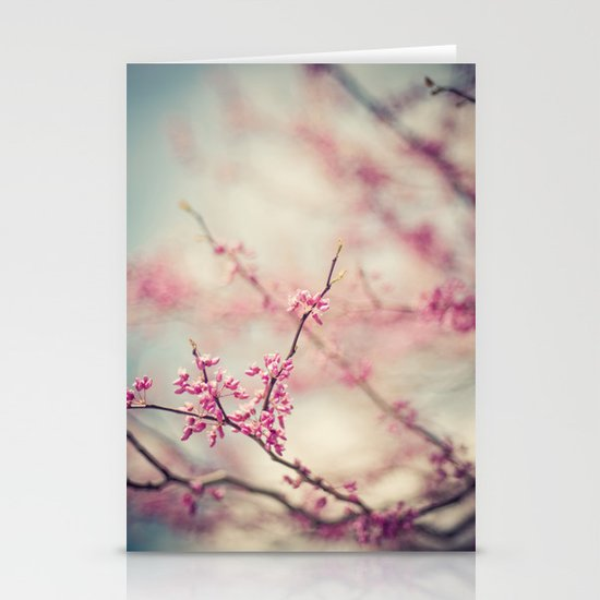 a pink day Stationery Card