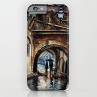 iPhone & iPod Case featuring Alleywalkers by Emily Swedberg (Ito Inez)