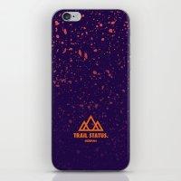 Trail Status / Purple iPhone & iPod Skin