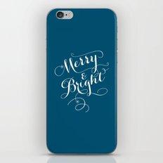 Merry & Bright iPhone & iPod Skin