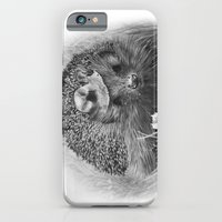 iPhone & iPod Case featuring Hedgehog by MARIA BOZINA - PRINT