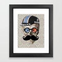 Brooklyn Cycling Club Framed Art Print