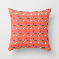 Flashy summer Throw Pillow