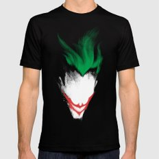 The Dark Joker SMALL Mens Fitted Tee Black