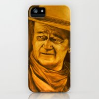 iPhone Cases featuring The Duke II by Shana Smith Artwork