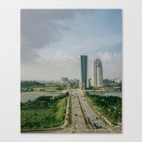 Two Roads That Didn't Di… Canvas Print