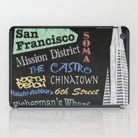 San Francisco Tourism Poster iPad Case