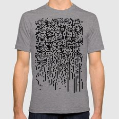 QR-antine V 0.1 Mens Fitted Tee Tri-Grey SMALL