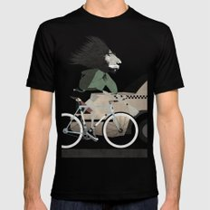 Alleycat Races Mens Fitted Tee Black SMALL