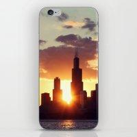 Chi Sky iPhone & iPod Skin