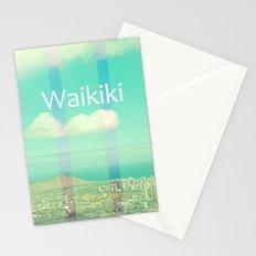Vintage Waikiki Stationery Cards