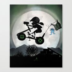 Halo Kid Canvas Print