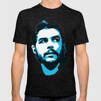 Che Guevara Mens Fitted Tee Tri-Black SMALL