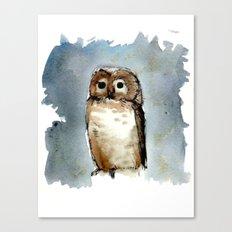 Little, Brown Canvas Print