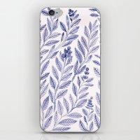 Wild Blue iPhone & iPod Skin