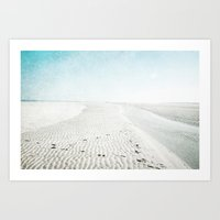 Sandy Beaches Art Print