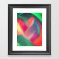 Enlightened Heart Framed Art Print