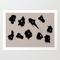 The Black Mask Collectio… Art Print