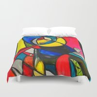 Within the Circle Duvet Cover