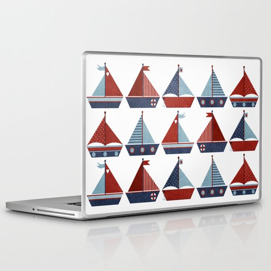 My Little Sail Boat. Laptop & iPad Skin