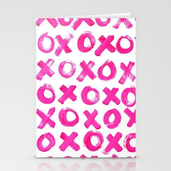 XOXO Stationery Card