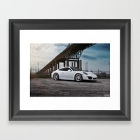 Porsche 911 Carrera Framed Art Print