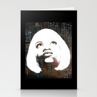 Blonde Diva Stationery Cards