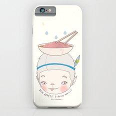 맛! Bon appetit bizarre nouille restaurant ! iPhone 6 Slim Case