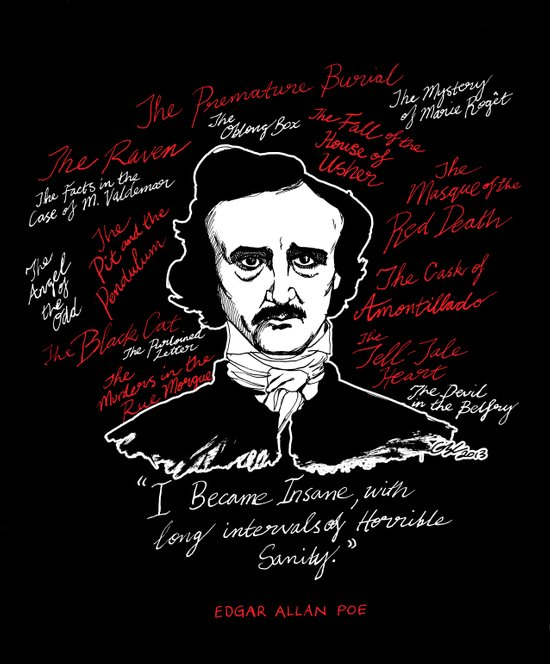 E.A. Poe Art Print