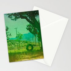 To Swing Again Stationery Cards