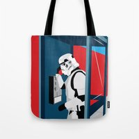 Stormtrooper Phone Home Tote Bag