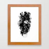 Surveillance  Framed Art Print