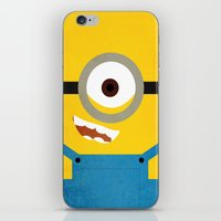 Simple Heroes - Minion iPhone & iPod Skin