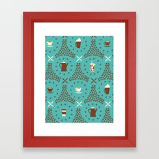 Coffee Hour Framed Art Print
