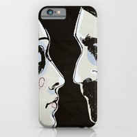 iPhone & iPod Case featuring Two People by Le Butthead