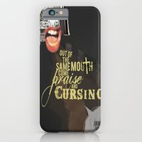 iPhone & iPod Case featuring Out of the Same Mouth by Meliza Celeridad