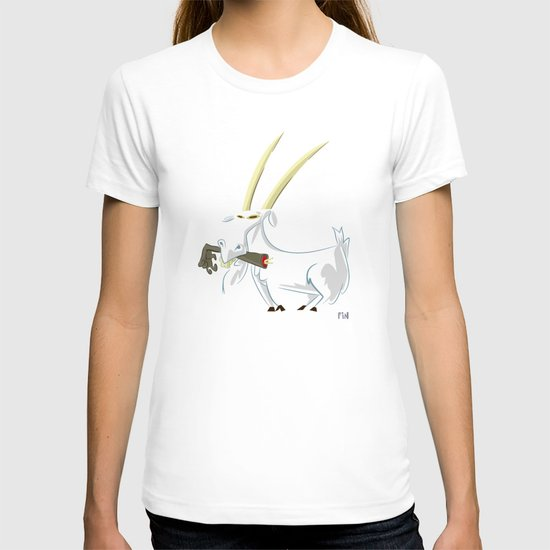 Trashmouth Goat, the Frost Giant Slayer T-shirt