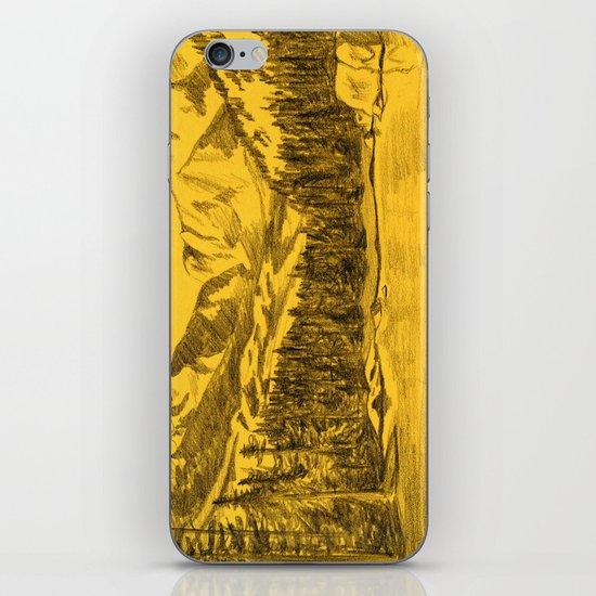 Yellow Rocky Mountains iPhone & iPod Skin