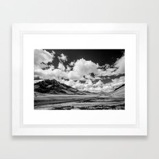Silk Road Framed Art Print