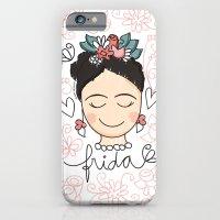 Frida Carinhas iPhone 6 Slim Case