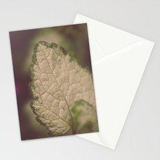 Leaf Macro Stationery Cards