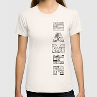 Gamer 2 Womens Fitted Tee Natural SMALL