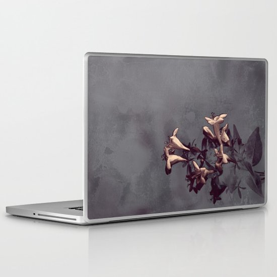 Evening Flowers Laptop & iPad Skin