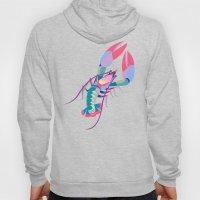 Pink Lobster Hoody