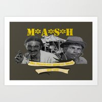 M*A*S*H: The Traveling M… Art Print