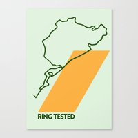 Drive - Ring Tested Canvas Print