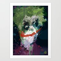 A Joker Painting Art Print
