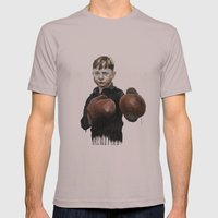 Fight! Mens Fitted Tee Cinder SMALL